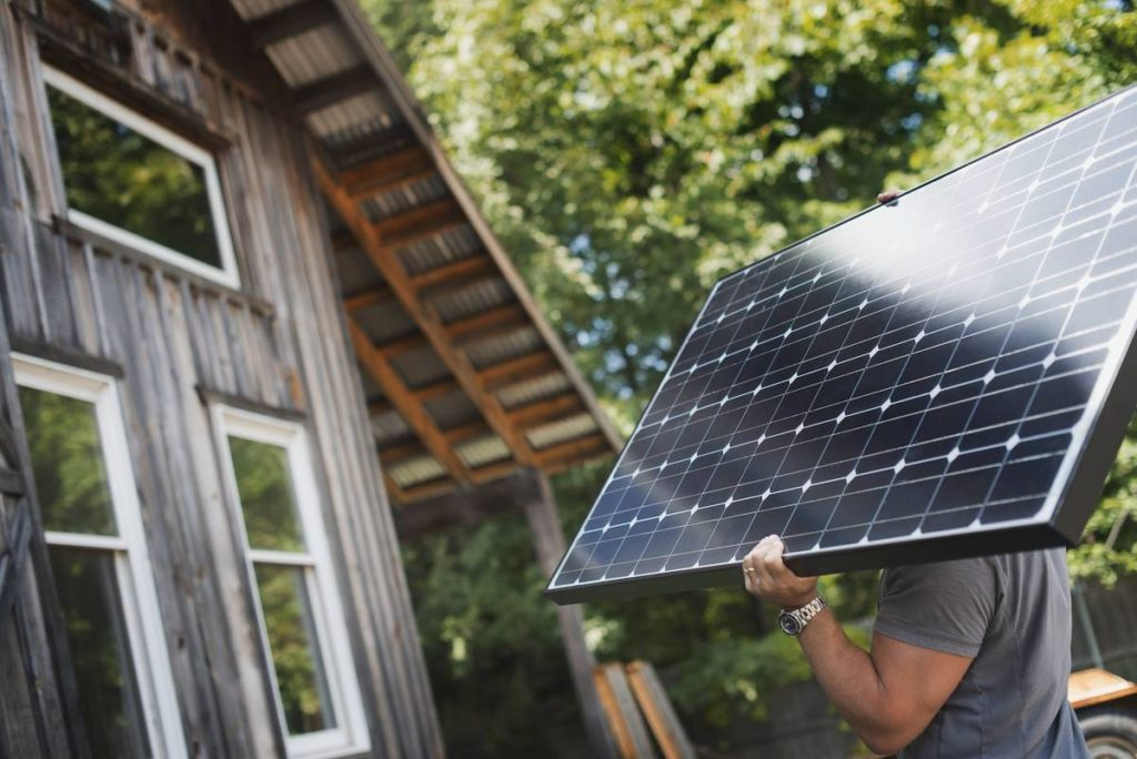 diy solar panels installing